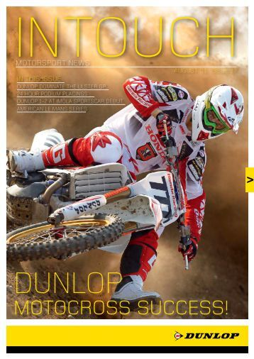 MOtOcrOss sUccEss! - Dunlop Motorsport
