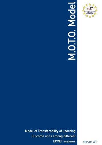 MOTO model 02 11.indd - ecvet moto - Isfol