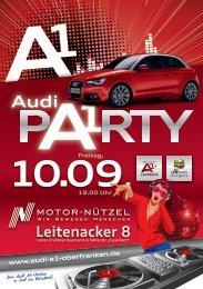 Audi A1 Kulmbach (A5) vorne