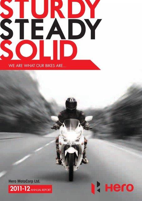 Annual Report 2011-12 - Hero MotoCorp