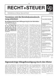 Ausgabe 4/08 als PDF - Haus und Grund Düsseldorf