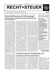 Ausgabe 4/04, PDF - Haus und Grund Düsseldorf