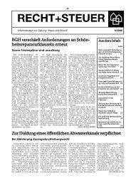Ausgabe 6/06 als PDF - Haus und Grund Düsseldorf