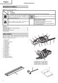 Hedge Trimmer Heckenschere Taille-Haies Tosasiepi Motor ... - Page 4