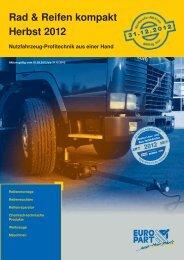 Rad & Reifen kompakt Herbst 2012 - EUROPART - europart.de