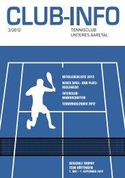 neues spiel - Tennis-Club Unteres Aaretal