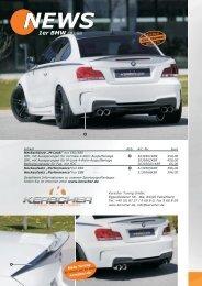 News 2012 BMW 1er M-Look - KERSCHER TUNING