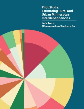 Pilot study: Estimating rural and urban Minnesota's interdependencies