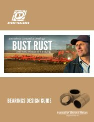 BEARINGS DESIGN GUIDE - Polygon Company