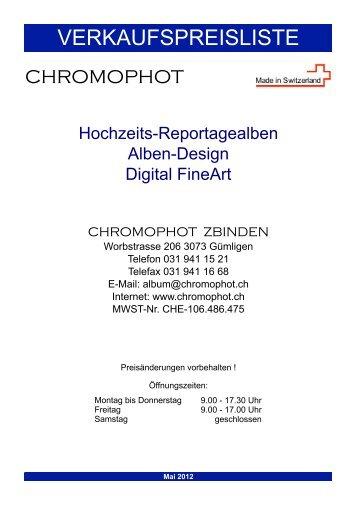 Fotoalben - Chromophot Zbinden