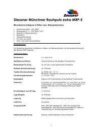 Diessner Münchner Rauhputz extra MRP-E