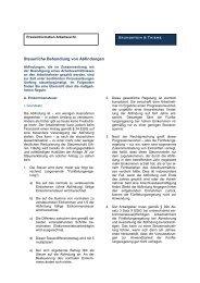 Steuerliche Behandlung von Abfindungen Grundstein & Thieme