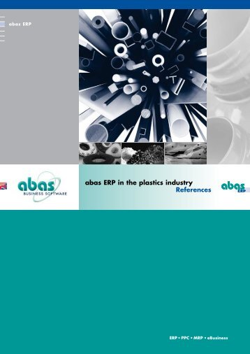 ERP system for the plastics industry - ABAS Software AG