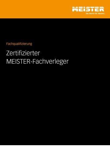Zertifizierter MEISTER-Fachverleger - Thalhofer