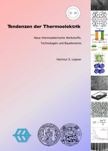 Thermoelectrics - Interdisziplinäres Zentrum für ...