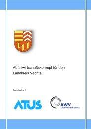 Abfallwirtschaftskonzept 2011 - AWV