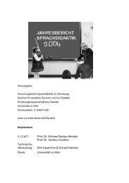 Impressum V.i.S.d.P.: Prof. Dr. Michael Becker-Mrotzek Prof. Dr ...