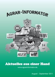 August - September - Agrarinformator - Online