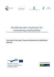 Qualifying older employees for maintaining employability ... - ADAM