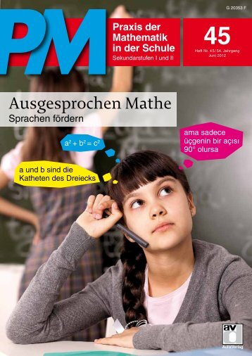 Praxis der Mathematik in der Schule