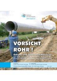 VORSICHT ROHR ! VORSICHT ROHR ! - Zweckverband Bodensee ...