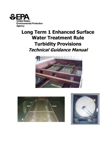 Long Term 1 Enhanced Surface Water Treatment Rule - US ...