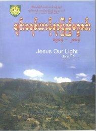 Chin Christian Centenary Magazine - US Siyin Baptist Church