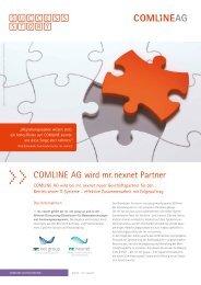 COMLINE AG wird mr. nexnet Partner
