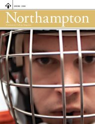 SPRING 2008 Community College Magazine - Northampton ...