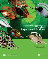 Wood and Paper-based Products - World Resources Institute