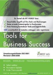 Umsetzungsleitfaden ISO 9001 Revision 2000/2008 - Vorest AG