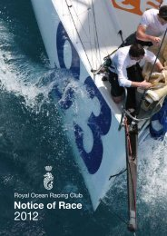 2012 RORC Notice of Race 4.23 Mb 08 - Royal Ocean Racing Club
