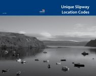 UK unique slipway location codes (USLCs) - RNLI