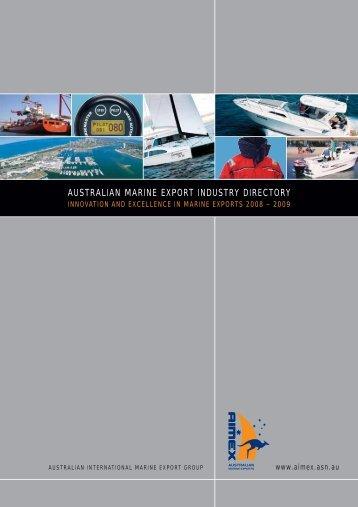 AUSTRALIAN MARINE EXPORT INDUSTRY DIRECTORY - AIMEX