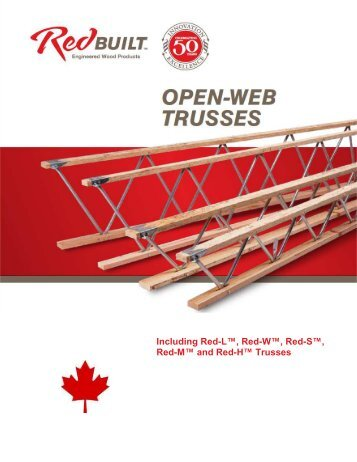 Red l red lt and red for Open web truss