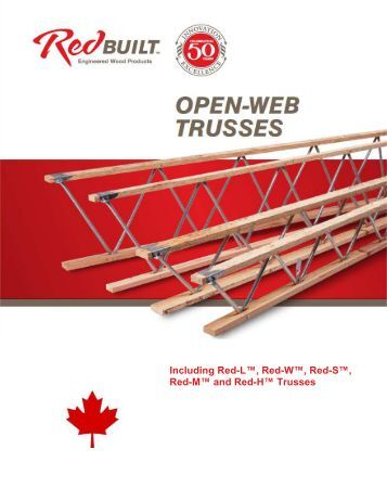 Red M And Red H Truss D