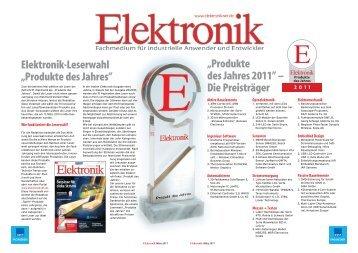 Produkte des Jahres - MSR Electronics GmbH