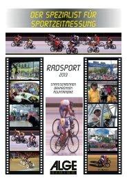 Radsport - Alge-Timing