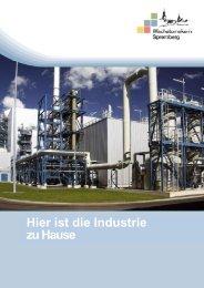 Hier ist die Industrie zu Hause - ASG Spremberg