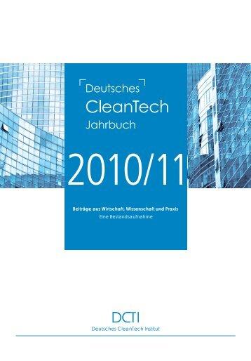 Deutsches CleanTech Jahrbuch 2010/2011 - ib vogt GmbH