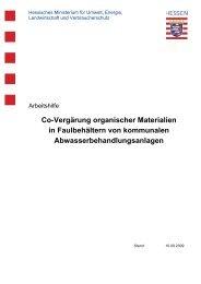 Co-Vergärung organischer Materialien in Faulbehältern von ...