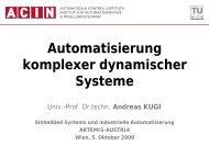 Automatisierung komplexer dynamischer Systeme - Artemis Austria
