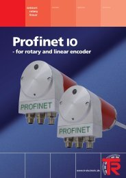 Profinet englisch.indd - TR Electronic
