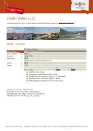 Sf Wien Passau 2012 - DDSG Blue Danube Schiffahrt GmbH
