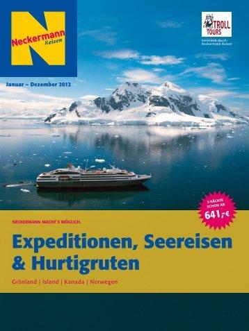 NECKERMANN - Expeditionen, Seereisen & Hurtigruten - Letenky.sk