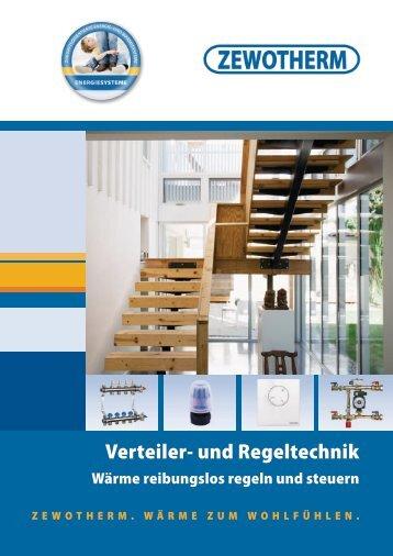 Verteiler- und Regeltechnik - Zewotherm