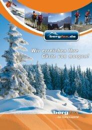 Bergfex Deutschland - Extranet der Berchtesgadener Land