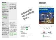 Programm 2013-2014 - Deutsche Schlaganfall-Gesellschaft