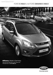 Preisliste Ford C-MAX - Ford Deutschland