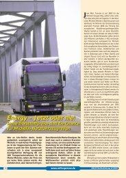 Energy – Jetzt oder nie! - Reifenpresse.de
